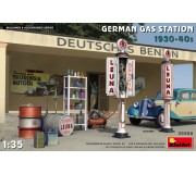 MiniArt 35598 German Gas Station 1930-40s