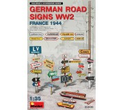 MiniArt 35600 German Road Signs WW2 (France 1944)