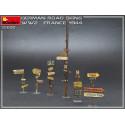MiniArt 35600 Signalisation Routière Allemande WW2 (France 1944)