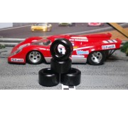 Paul Gage PGT-20125LMDF Urethane Tires 20x12x5mm x2
