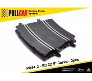 Policar P044-2 Courbe R3 22.5° x2