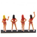 LE MANS miniatures Set of Hawaiian Tropic girls