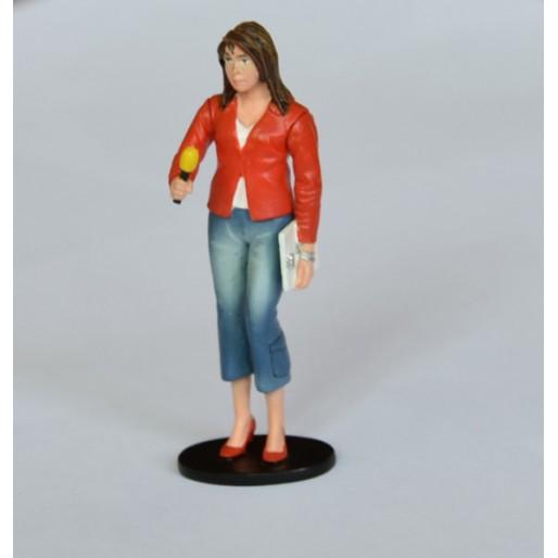 LE MANS miniatures Figure Marion, the journalist