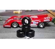 Paul Gage PGT-21125LMDF Urethane Tires 21x12x5mm x2