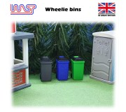 WASP Wheelie bins