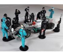 Slot Track Scenics PC/Dec. 2 Pit Crew Decals – Mercedes Petronas