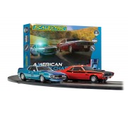 Scalextric C1405 American Police Chase Set