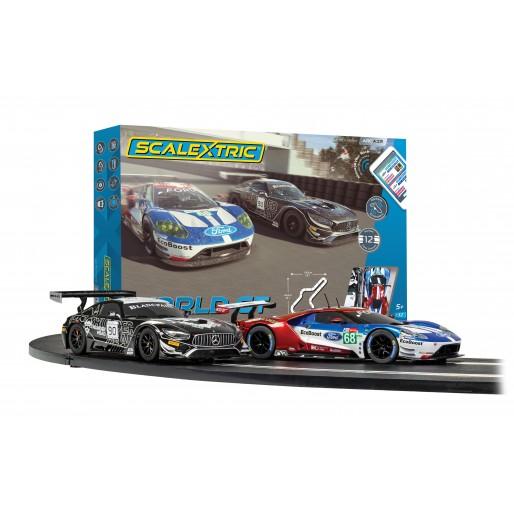 Scalextric C1359 ARC AIR 24h Le Mans Porsche 911 Set