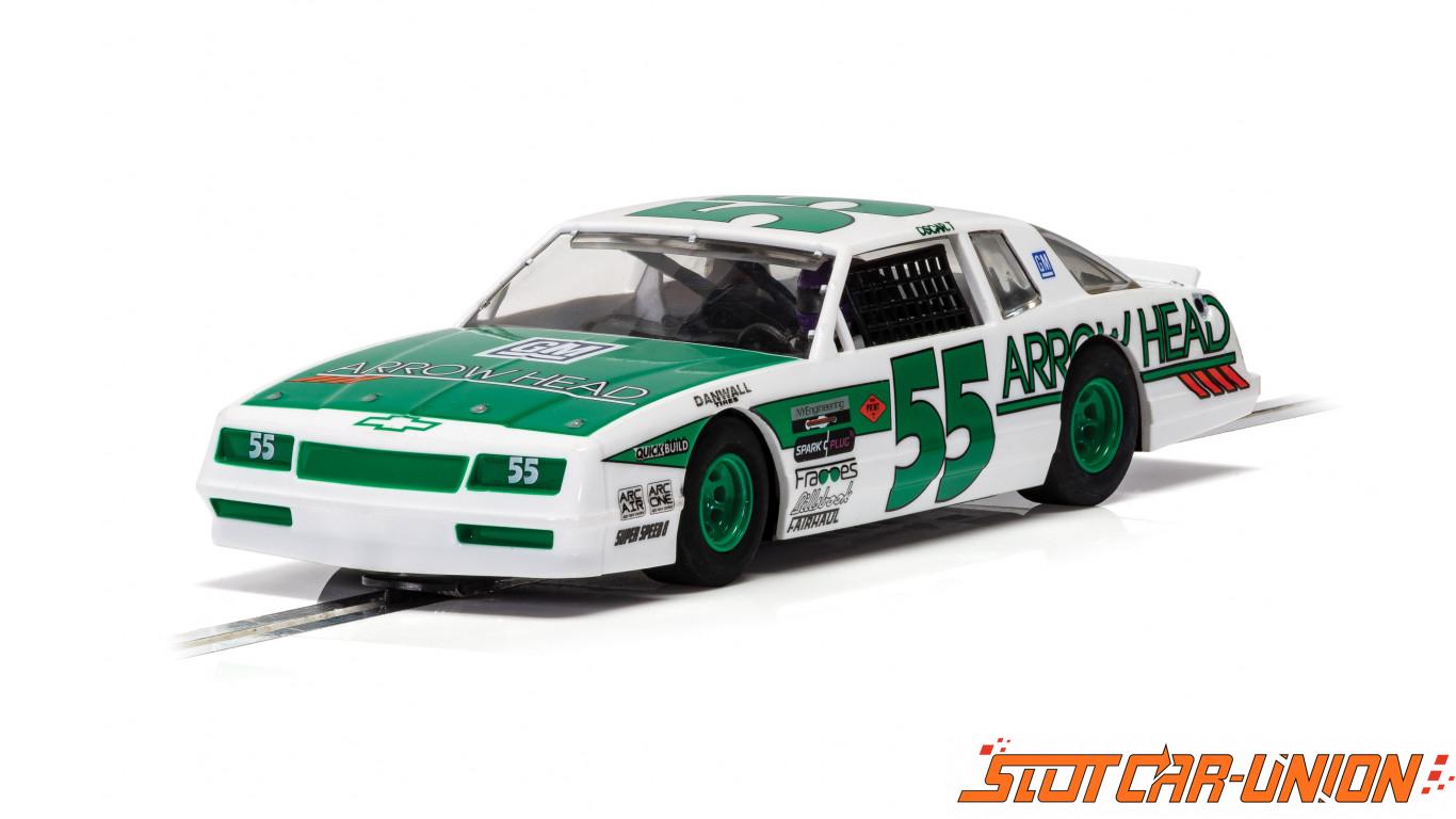 Scalextric C4079 Chevrolet Monte Carlo Green & White No.55