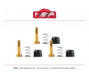 NSR 1216 Soft Suspension Kit - 6mm springs - for Inline Formula motor support