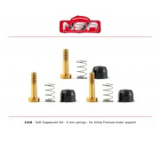 NSR 1216 SOFT Suspensions Kit - 6mm springs for Formula 86/89