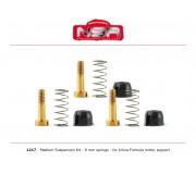 NSR 1217 MEDIUM Suspensions Kit - 9mm springs for Formula 86/89
