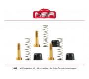 NSR 1216 Hard Suspension Kit - 14mm springs - for Inline Formula motor support