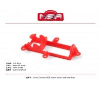 NSR 1283 Inline Formula NSR motor mount Extrahard Red