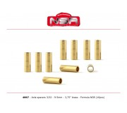 "NSR 4867 Axles Spacers - 3/32 brass - 3,750""/9.50 mm (10pcs)"