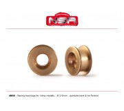 NSR 4868 Racing Bushings 2,5mm - 3/32 autolubricant & no friction for Inline models