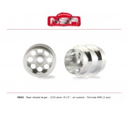 NSR 5022 3/32 Wheels - Rear Ø 13x13mm - Ultralight & very accurate AIR SYSTEM for Formula 86/89