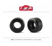 NSR 5283 Slick Front - 18 x 10 - No friction for 13 Ø wheels