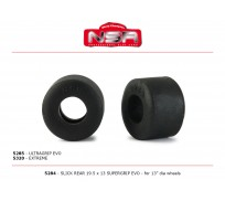 NSR 5284 Slick Rear - 19,5 x 13 SUPERGRIP EVO for 13 Ø wheels (4pcs)