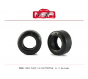 NSR 5290 Slick Front - 16 x8  - No friction for 13 Ø wheels