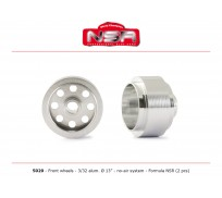 NSR 5020 3/32 Wheels - Front Ø 13x8mm - Ultralight & very accurate AIR SYSTEM for Formula 86/89