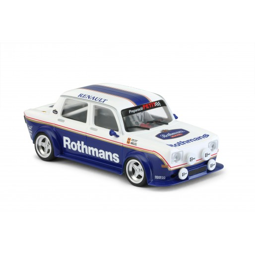 BRM Simca 1000 - Rothmans Edition - new body type with front squared lights - assembled with aluminum chassis