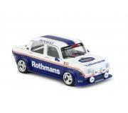 BRM Simca 1000 - Rothmans Edition - nouveau type de carrosserie avec phares avant carrés - assemblé avec un châssis aluminium