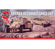 Airfix Vintage Classics - German Reconnaisance Set 1:76
