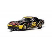 Scalextric C4107 Chevrolet Corvette - No. 66 'Flames'