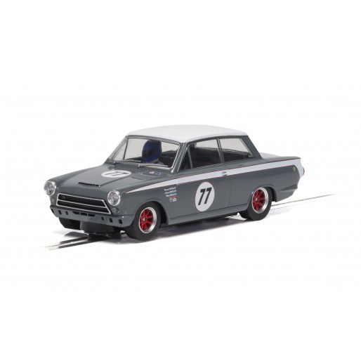 Scalextric C4177 Ford Lotus Cortina - JRT - Howard Donald/Andrew Jordan No.77