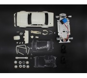 TTS Ford Escort Mk.1 Gr.2 Full White Kit - preassembled chassis
