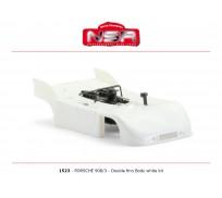 NSR 1523 Porsche 908/3 - (double aileron) Kit Carrosserie Blanc