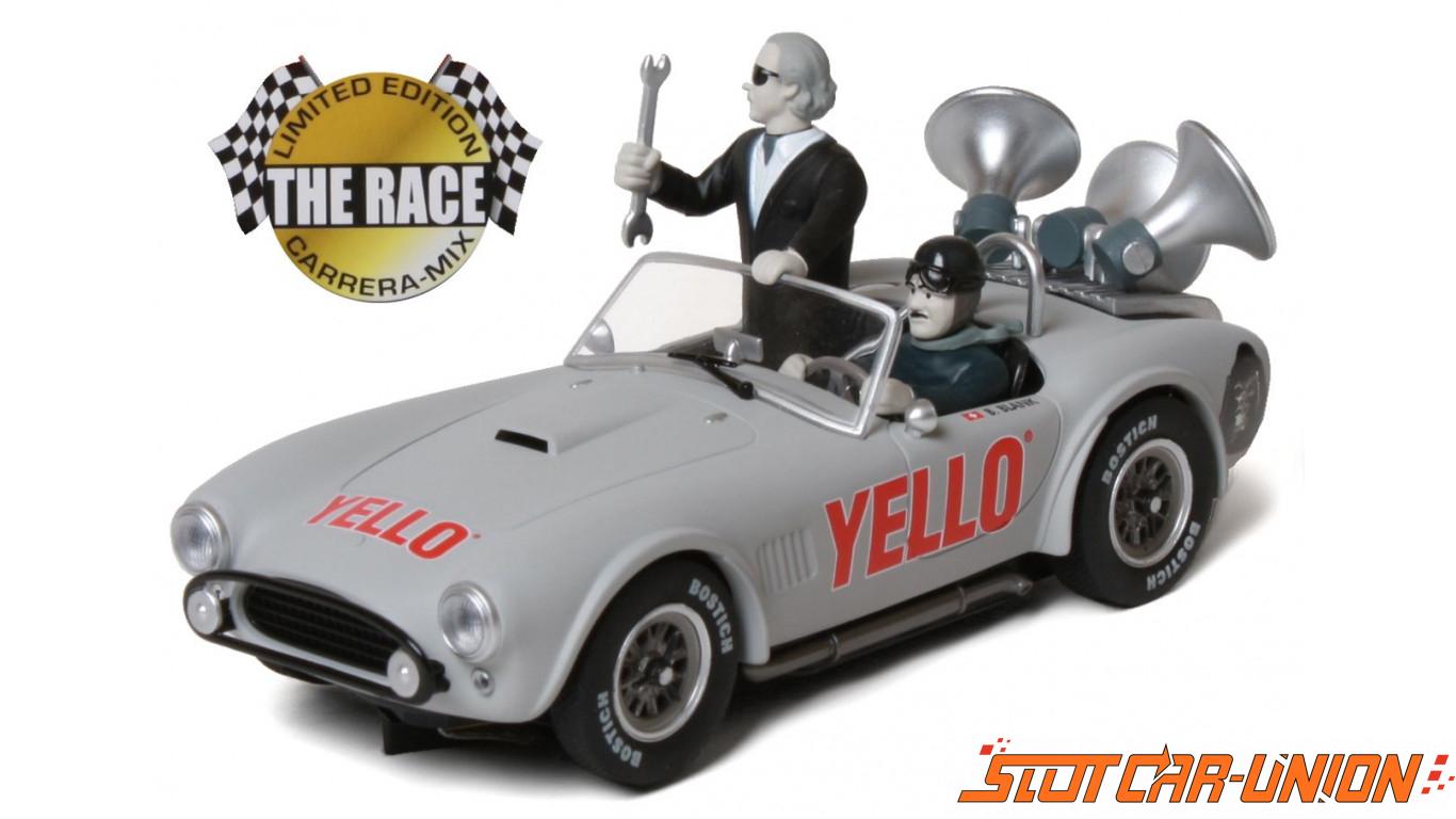 Carrera Digital 132 30655 Shelby Cobra 289 1963 Yello Slot Car Union Track Wiring