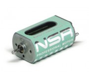 NSR 3024L BABY KING 17 17000 rpm - 245 g.cm @ 12V Magnetic Effect Long can w/wires + inline pignon for universal use