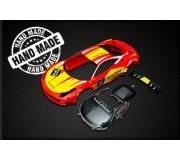 Black Arrow BABC02J Ferrari GT3 Italia Kit Carrosserie RED-YELLOW n.21