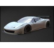 Black Arrow BABC02A Ferrari GT3 Italia Kit Carrosserie WHITE