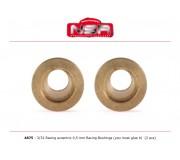 NSR 4875 Racing Eccentric Bushings - 0,5 mm - 3/32 autolubricant & no friction (2 pcs)