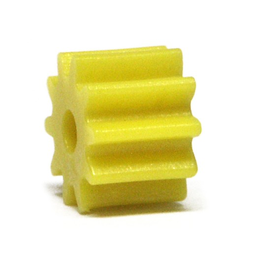 NSR 7210 Pignons Plastique Sidewinder 10 dents sans friction Jaune Ø6,5mm x4