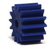 NSR 7314 Plastic Pinions Anglewinder 14 teeth no friction Blue Ø7,5mm x4