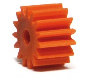 NSR 7315 Plastic Pinions Anglewinder 15 teeth no friction Orange Ø7,5mm x4