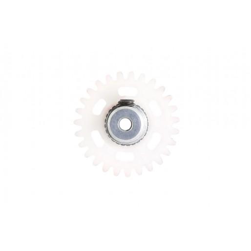 NSR 2006627 Plastic Crown 27 teeth Anglewinder 2mm White