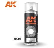 AK Interactive AK1010 Fine Primer Grey - Spray 400ml (Comprend 2 buses)