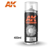 AK Interactive AK1012 Gloss Varnish - Spray 400ml (Includes 2 nozzles)