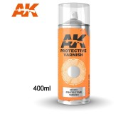 AK Interactive AK1015 Protective Varnish - Spray 400ml (Comprend 2 buses)