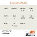 AK Interactive AK11002 Offwhite 17ml