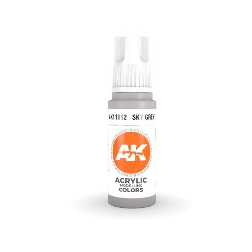 AK Interactive AK11012 Sky Grey 17ml