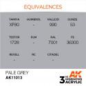 AK Interactive AK11013 Pale Grey 17ml