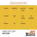 AK Interactive AK11035 Sand Yellow 17ml