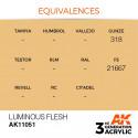 AK Interactive AK11051 Luminous Flesh 17ml