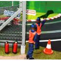Slot Track Scenics CfW10 Clips de fixation pour piste bois